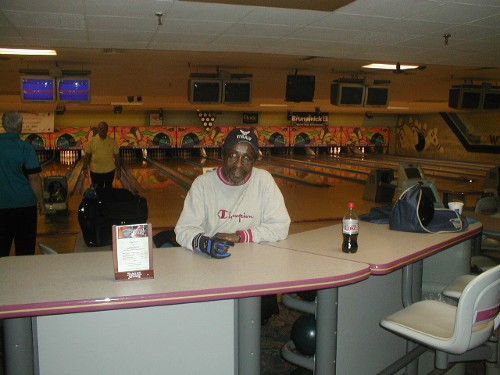 Ron Haynes.  He was in my summer league, but bowls the Westgate Mixed League in the winter.