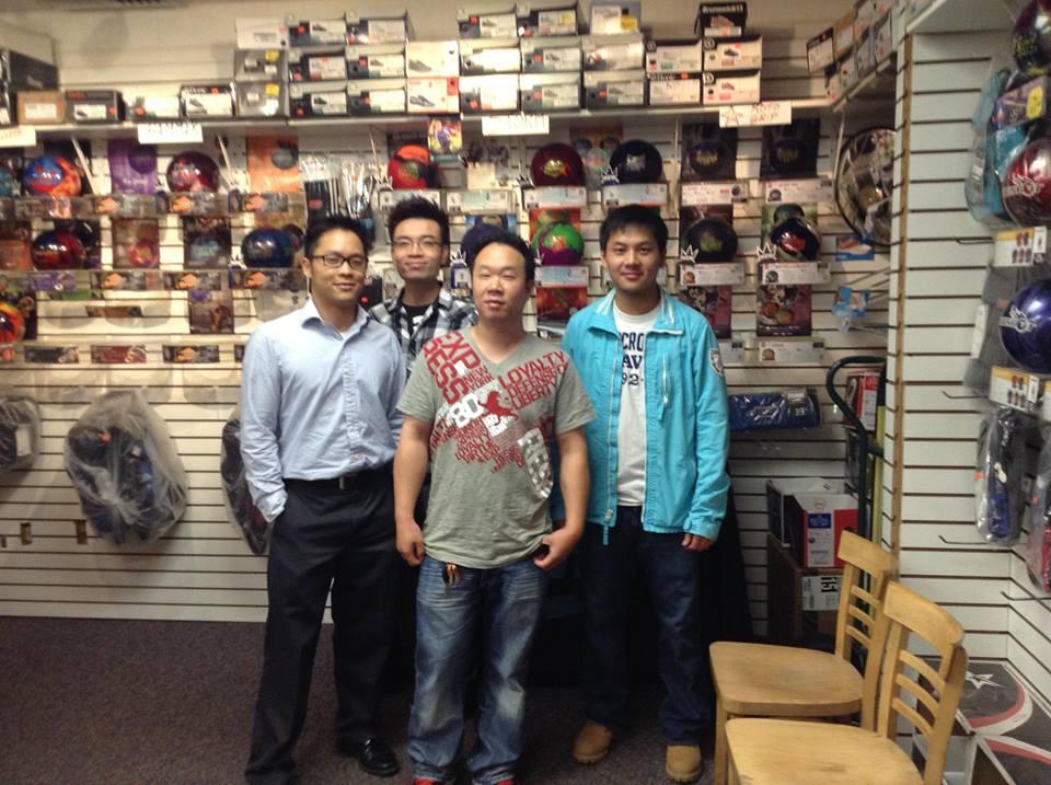 Final third winners in the 2012-13 Coke Classic league, Chanyu (L to R: Hans Cheung, Michael Wu, Edmond Chan, Jey Yu)