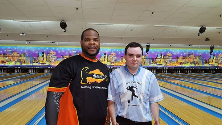 """Mr. 900"" Hakim Emmanuel (L), champion of 9/27/2015 NAT event, with runner-up Bill Sheehey (Photo courtesy of NAT)"