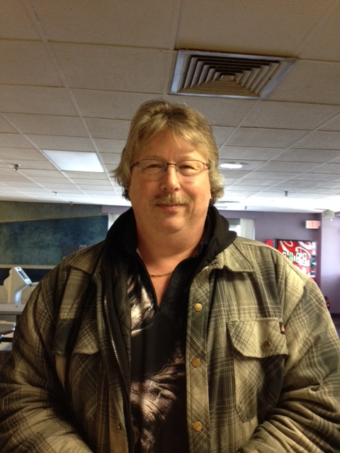 Mike Klosin, champion of the February SEMBA event at Westgate Lanes (Photo courtesy of SEMBA)