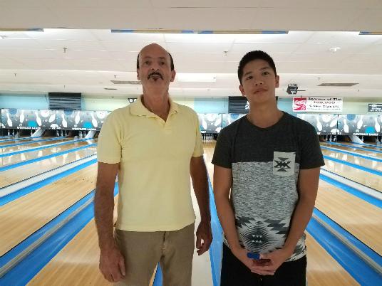 Sept. 2017 NAT handicap singles finalists